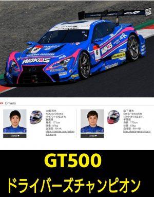 SUPER GT シリーズチャンピオン